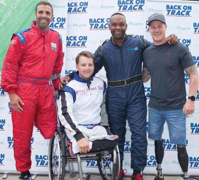 Karting With Heroes 2019